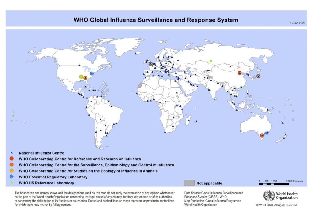 Centros Nacionales de Gripe son laboratorios reconocidos por la OMS
